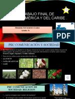 Trabajo Final de America Central y Del Caribe