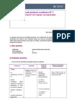 Guía y Rúbrica de Producto Académico 1