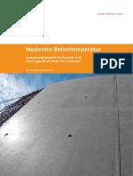 Moderate Betontemperatur Durabilo Und Fl