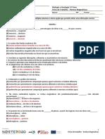 Correção_Ficha de Trabalho nº2 – Rochas Magmáticas CC
