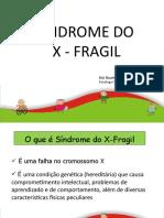 Sinfrome X- Fragil - Slides (1)