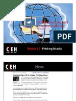 CEHv6.1 Module 12 Phishing Attacks