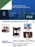 TALLER PRÁCTICO DE INVESTIGACIÓN EVALUATIVA PSP315-5200-2021-1 30.04.2021 N° 4