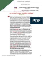 La société féodale en France _ II. le régime politique_