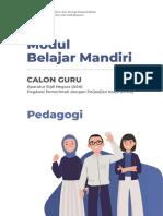 Modul Belajar Mandiri Pedagogi 2021