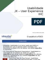 Aula IHC - UX