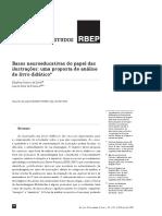 Bases neuroeducativas do papel das ilustrações de livros didáticos - Exemplo de artigo - UA 3