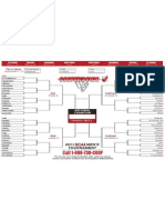 Printable March Bracket Updated