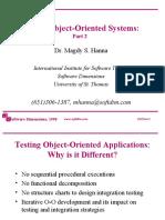 9904 - OO Testing Part 2
