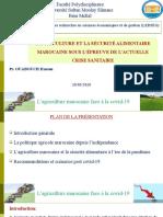 E-conférence -Covid19 et système agroalimentaire