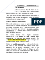 EL SALTO CUÁNTICO DIMENSIONAL