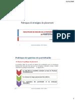 Politiques Et Stratégies de Placement.pdf · Version 1