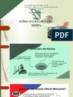 Presentacion de Normas Oficiales