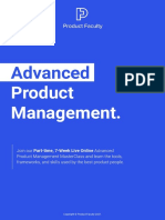 Product Faculty Advanced Product Management MasterClass - V31