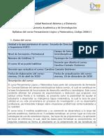 Syllabus Del Curso Pensamiento Lógico y Matemático (1)