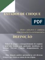 AULA 5 - ESTADO DE CHOQUE + CRISE ASMÁTICA