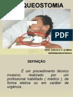 ASSISTÊNCIA DE ENFERMAGEM NA VENTILAÇÃO ARTIFICIAL.