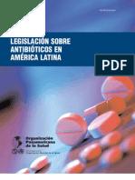 Legislacion de antibioticos en America Latina