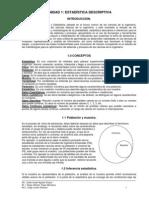 Texto Unidad I Estadistica Descriptiva