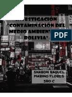 Ivestigacion Contaminacion en Bolivia