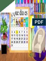 Calendario en aula virtual