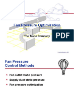 Fan Pressure Optimization