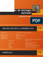Taller de Geología Aplicada