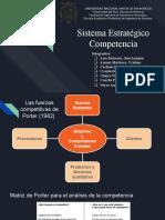 Sistema Estrategico Competencia