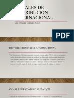 Canales de distribución fisica  internacional