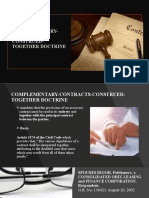 COMPLEMENTARY-CONTRACTS-CONSTRUED-TOGETHER-DOCTRINE