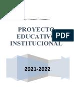 Proyecto Educativo Institucional Inicial