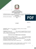 Contratto concluso con il call center -  prima d.lgs. 21/2014 - conseguenze