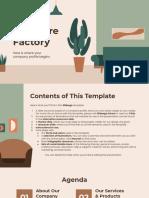 Salinan dari IDEA Furniture Factory Company Profile by Slidesgo