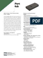 13 Port USB 2.0 Hub with 4Amp Power Supply