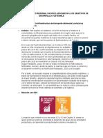 Objetivos del pacto regional pacifico y los ODS