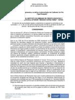 Resolución 754 Del 29 de Septiembre de 2020 Subfondio Ser Pilo Paga Rezagado