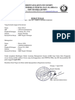 Surat Tugas Bimtek LMS
