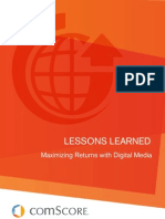 comScore Lessons Learned