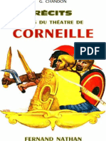 Chandon G - Recits Tires Du Theatre de Corneille