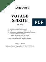 Voyage Spirite-Allan Kardec