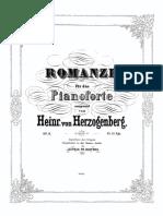 Herzogenberg, Romanze, Op. 6