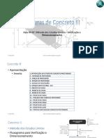 Aula04 a 07 - Método dos Estados Limites - Verificação e Dimensionamento -aula