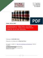 Jurisprudencia Tributaria Seleccion Silvia Dic 2016