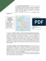 EL ESPAÑOL DE AMÉRICA. doc