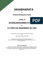 O Mahabharata 18 Svargarohanika Parva Em Português