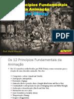 12 Princípios Fundamentais Da Animação