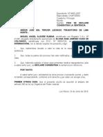 consentida la sentencia (Colchado) 23-06-10