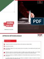 Léger opinion poll, Quebec politics, May 6, 2021
