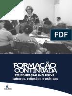 Formação continuada Saberes, Reflexões e Práticas - digital 2017