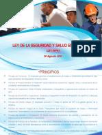 Curso Ley de Seguridad y Salud en El Trabajo Ppt